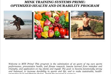 Training, Movement, and Nutrition E-Book Available Now!